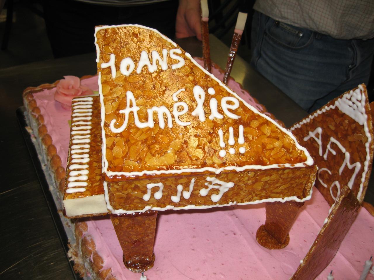 Nous avons fêté les 10 ans d'Amélie !!!